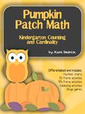 Pumpkin Themed Number Charts, Ten's Frames, Five's Frames, Subitzing, and Bingo