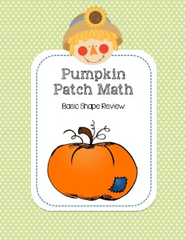 Pumpkin Patch Math - Basic Shapes
