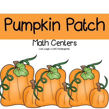 Pumpkin Patch Math Centers
