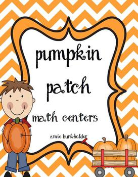 Pumpkin Patch Math Centers