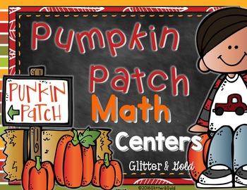 Pumpkin Patch Math Centers: 8 Fun Hands-on Centers
