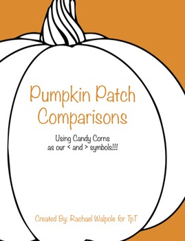 Pumpkin Patch Math Comparisons for 2nd Grade