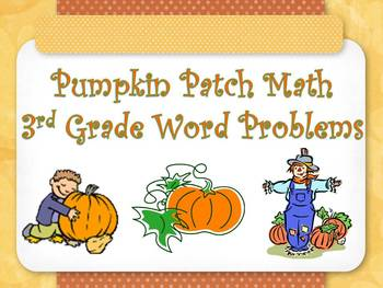 Pumpkin Patch Math--Cooperative Learning Group Activity