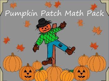 Pumpkin Patch- Math Interactive Notebook