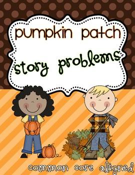 Pumpkin Patch Math Story Problems