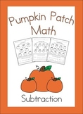 Pumpkin Patch Math (Subtraction)