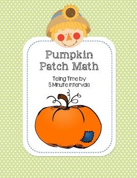 Pumpkin Patch Math - Telling Time