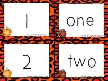 Pumpkin Patch Math Time-K-1 Common Core Aligned Math Centers