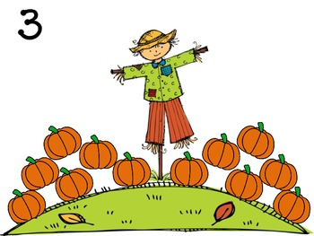 Pumpkin Patch Math and Literacy Centers