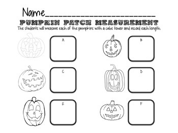 Pumpkin Patch Measurement