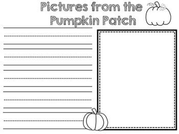 Pumpkin Patch Memory Book