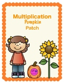 Pumpkin Patch Multiplication Facts Tracking Sheet & Quizzes