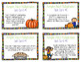 Multiplication Task Cards - Story Problems - Pumpkin Patch