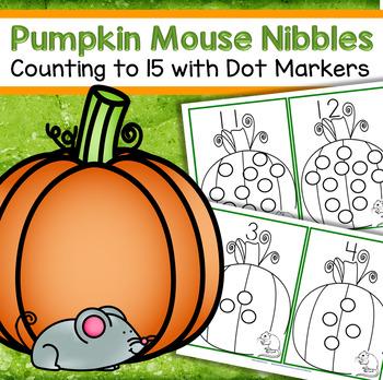 Dot Markers Pumpkins Numbers