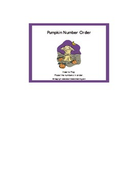 Pumpkin Patch Number Games: 0-25 eBook