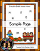 Pumpkin Patch Number Match File Folder Math Center Activity (1-20)