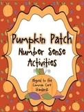 Pumpkin Patch Number Sense Activity Pack - Aligned to the CCSS