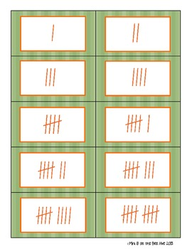 Pumpkin Patch Number and Tally Match
