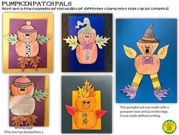 Pumpkin People Craftivity and Writing
