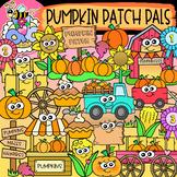 Pumpkin Patch Pals: Fall Clipart {DobiBee Designs}