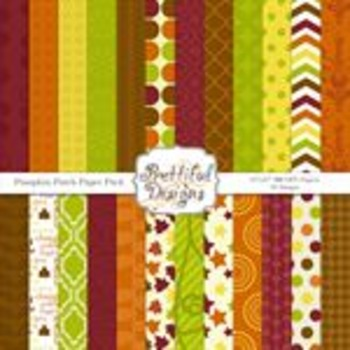 Pumpkin Patch Paper Pack