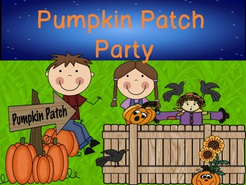 Pumpkin Patch Party: Literacy Workstation Pack!