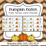 Pumpkin Patch Past Tense Verb Packet