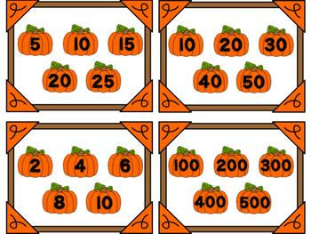 Pumpkin Patch Patterns - Skip Counting Center