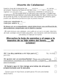 Pumpkin Patch Permission Slip SPANISH EDITABLE