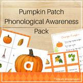 Pumpkin Patch Phonological Awareness Pack
