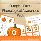 Pumpkin Patch Phonological Awareness Pack