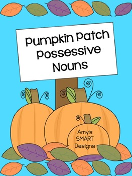 Pumpkin Patch Possessive Nouns