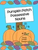 Pumpkin Patch Possessive Nouns