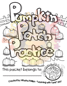Pumpkin Patch Practice Packet