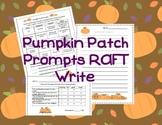 Pumpkin Patch Prompts RAFT Write