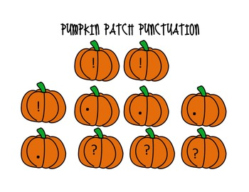 Pumpkin Patch Punctuation