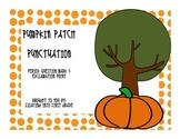 Pumpkin Patch Punctuation