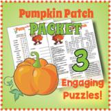 Pumpkin Patch Puzzle Bundle