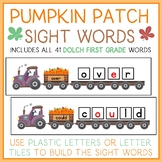 Pumpkin Patch Read and Build Sight Words - With all 41 First Grade Dolch Words