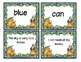 Pumpkin Patch Readers Words and Fluency Sentences  Pre-Primer Words