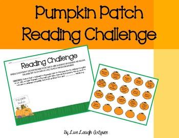 Pumpkin Patch Reading Challenge