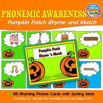 Phonemic Awareness Rhyming Activities
