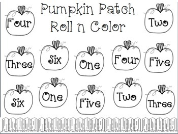 Pumpkin Patch Roll n Color