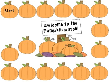 Pumpkin Patch Scattergories