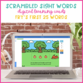 Pumpkin Patch Scrambled Sight Words {Fry's First 25 Boom Cards}