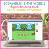 Pumpkin Patch Scrambled Sight Words {Fry's Fourth 25 Boom Cards}