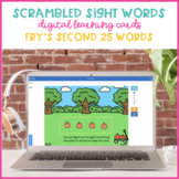 Pumpkin Patch Scrambled Sight Words {Fry's Second 25 Boom Cards}