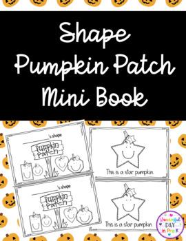 Pumpkin Patch Shape Books