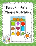 Pumpkin Patch Shape Matching