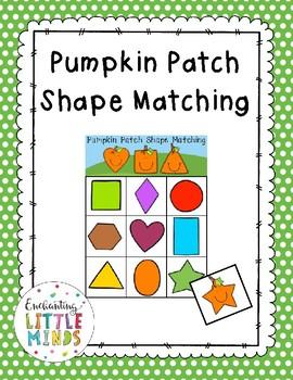 Pumpkin Patch Shape Matching